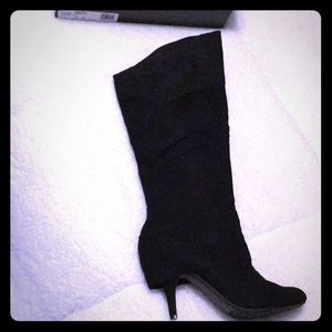 Shoes - Fergalicious Tall Suede Boot